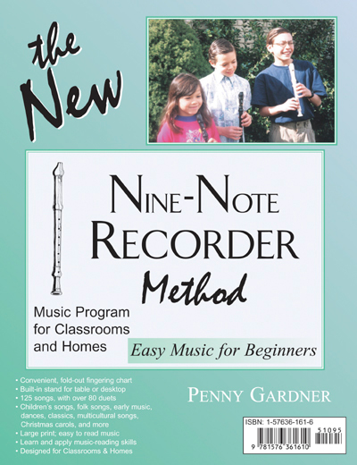elementary music education recorder book