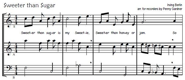 sweeter snip recorder consort music