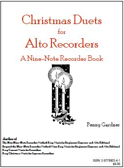 christmas duets for alto recorders