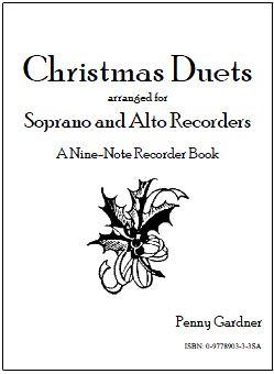 christmas duets for soprano and alto recorders