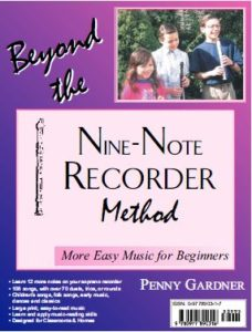 intermediate music book for soprano or tenor recorder