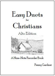 easy hymns duets for alto or treble recorder