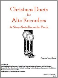 Christmas duets for two alto recorders sopranino