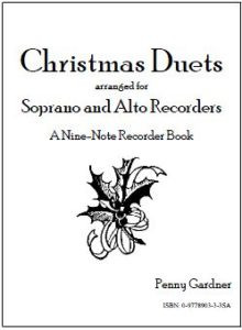 christmas duets for soprano and alto recorder, descant and treble recorder
