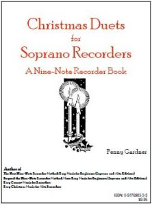 christmas duets for two soprano recorders