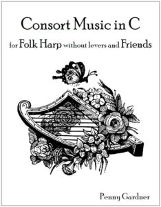 consort music for folk harp without levers and recorder
