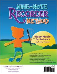 Orff Schulwerk friendly recorder method