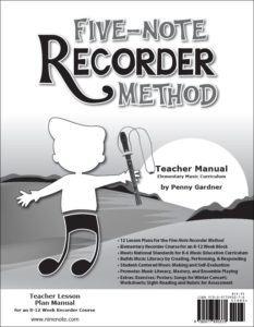 Orff Schulwerk friendly recorder method, elementary music curriculum 978-0-9778903-7-8