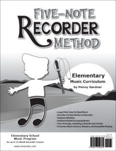 Orff Schulwerk friendly recorder method, elementary music curriculum 978-0-9778903-6-1