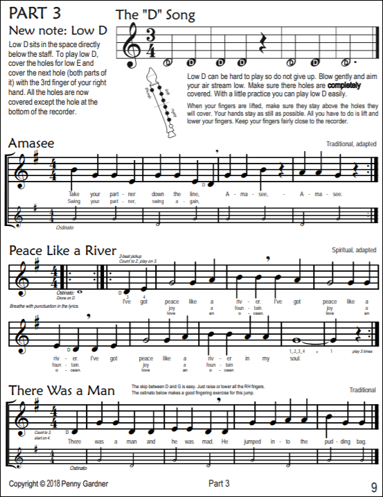 elementary music education recorder music curriculum