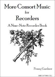 intermediate consort music for SATB recorders