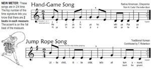 Rhythm Lesson 2 – Nine-Note Recorder