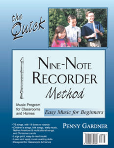 learn to play recorder beginner music book