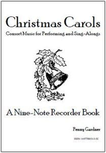 christmas carols for recorder consort sing-along