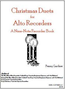 Christmas duets for two alto recorders sopranino