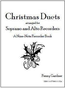 christmas duets for soprano and alto recorder, descant and treble recorder