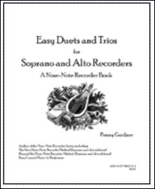 easy duets and trios for soprano and alto recorder
