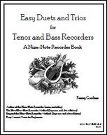 easy duets and trios for tenor and bass recorder