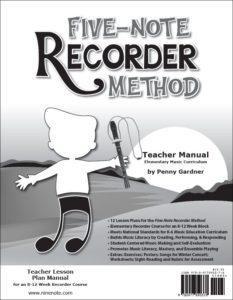 Orff Schulwerk friendly recorder method, elementary music curriculum 978-0-9778903-7-8